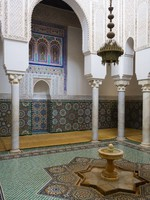 Tomb of Moulay Ismail in Meknes with mosaics. Фото Sacha Ferrarelli - Depositphotos