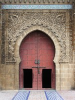 Mausoleum of Mouley Ismail in Meknes. Фото alessandro0770 - Depositphotos