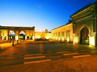 Moulay Ismail Mausoleum, Meknes, Morocco, Africa. Фото Sorin Rechitan - Depositphotos