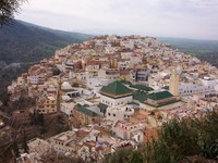Morocco. Mosque of Moulay Idriss