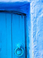 Architectural detail in Chefchaouen, Morocco, Africa. Фото Sorin Rechitan - Depositphotos
