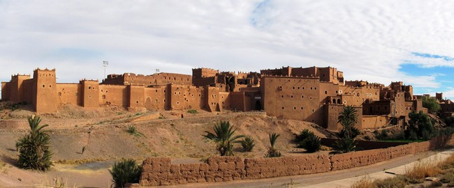 Kasbah Taourirt in Ouarzazate Berber city named also The door of the desert Morocco. Фото SGGroza - Depositphotos