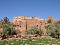 Casbah of Ait Benhaddou, Morocco Africa. Фото Philip Lange - Depositphotos