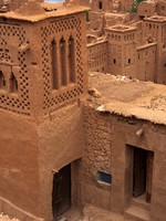 Traditional Moroccan Kasbah. Фото yoka66 - Depositphotos