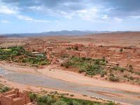 View from Casbah Ait Benhaddou (Morroco). Фото yoka66 - Depositphotos