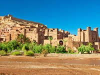 The clay city in the north of Africa, Morocco. Фото seqoya - Depositphotos