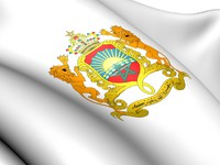 Марокко. Morocco Coat of Arms. Фото yuiyui - Depositphotos