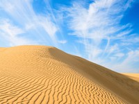 Марокко. Gold dunes in great indian desert. Фото Iryna Rasko - Depositphotos