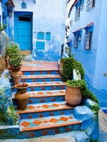 Марокко. Architectural details and doorways of Morocco. Фото seqoya - Depositphotos