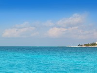 Мексика. Канкун. Isla Mujeres North beach Cancun Mexico. Фото lunamarina - Depositphotos