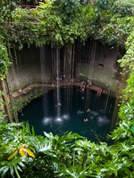 Мексика. Cenote Ik-Kil in Yucatan Area, Mexico. Фото SOMATUSCANI - Depositphotos