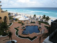 Мексика. Канкун. The Ritz Carlton Cancun. Фото Павла Аксенова
