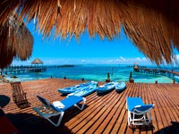 Мексика. Ривьера Майя. Vacation in Tropic Paradise. Isla Mujeres, Mexico - Фото Subbotina - Depositphotos