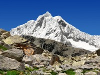 Перу. A summit in the Cordillera Blanca - Mountain Pisco. Фото Vaclav Volrab - Depositphotos (2)