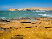 Peruvian coastline in Paracas, South America. Фото Jacek Kadaj - Depositphotos
