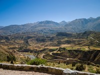 Peru. Colca canyon from upper road. Фото Joerg Sinn - Depositphotos