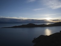 View of Titicaca Lake, at the border of Peru and Bolivia, South America. Фото carlos sanchez pereyra - Depositphotos