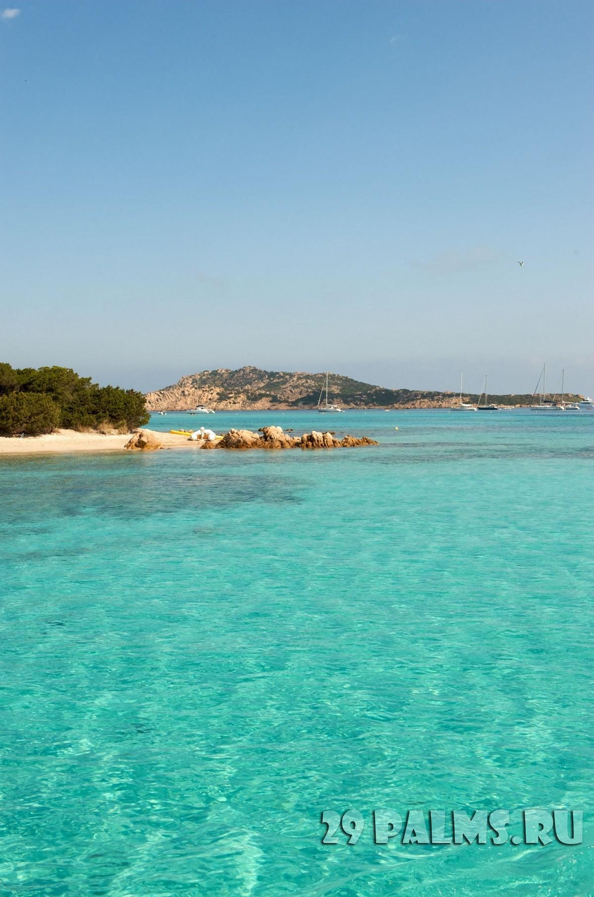Отпуск сардиния