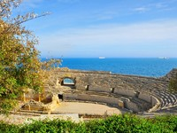 Испания. Каталония.  Roman amphitheater in Tarragona, Spain. Фото  Juan moyano - Depositphotos