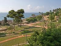 Испания. Каталония. Park in Tarragona. Фото Иван Дроздов - Depositphotos