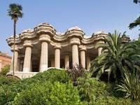 Испания. Барселона. Парк Гуэль (арх. А.Гауди). Gaudi Museum. Фото Olga Demchishina - Depositphotos
