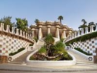 Испания. Барселона. Парк Гуэль (арх. А.Гауди). Entrance to The Gaudi Museum. Фото Olga Demchishina - Depositphotos