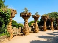 Испания. Барселона. Парк Гуэль (арх. А.Гауди). Park Guell, Barcelona, Spain. Фото nito103 - Depositphotos