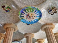 Испания. Барселона. Парк Гуэль (арх. А.Гауди). Park Guell in Barcelona. Фото tanjakrstevska - Depositphotos