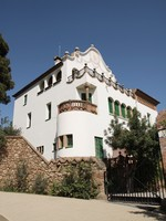 Испания. Барселона. Парк Гуэль (арх. А.Гауди). Building in Park Guell - Barcelona. Фото  Agnieszka Glebocka - Depositphotos