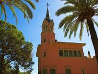Испания. Барселона. Парк Гуэль (арх. А.Гауди). View of Gaudi. Фото Denis Babenko - Depositphotos