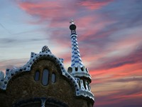 Испания. Барселона. Парк Гуэль (арх. А.Гауди). Parc Guell in Barcelona, Spain. Фото Vladimir Zhuravlev - Depositphotos