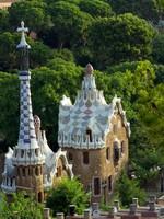 Испания. Барселона. Парк Гуэль (арх. А.Гауди). Park Guell in Barcelona, Spain. Фото Vladyslav Danilin - Depositphotos