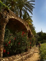 Испания. Барселона. Парк Гуэль (арх. А.Гауди). Guell park. Фото Igor Negovelov - Depositphotos