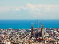 Испания. Барселона Собор Святого Семейства (арх. А.Гауди). Barcelona City. Фото Denis Babenko - Depositphotos