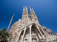 Испания. Барселона Собор Святого Семейства. Sagrada Familia. Фото  Istvan Csak - Depositphotos