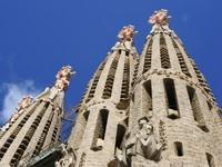 Испания. Барселона Собор Святого Семейства. Sagrada Familia. Фото Martin Garnham - Depositphotos