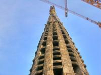 Испания. Барселона Собор Святого Семейства. Barcelona Architecture. Фото jovannig - Depositphotos