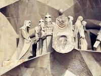 Испания. Барселона Собор Святого Семейства (арх. А.Гауди). Sagrada Familia Temple details. Фото yurizap - Depositphotos