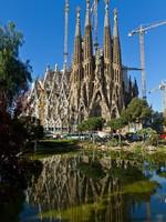 Испания. Барселона. Detail facade Sagrada Familia Barcelona Spain. Фото Carlos Soler Martinez - Depositphotos