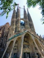 Испания. Барселона Собор Святого Семейства. Sagrada familia church, Barcelona, Spain. Фото Elena Duvernay - Depositphotos