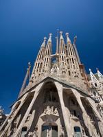 Испания. Барселона Собор Святого Семейства (арх. А.Гауди). Sagrada Familia. Фото csakisti - Depositphotos