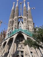Испания. Барселона Собор Святого Семейства (арх. А.Гауди). Temple Sagrada Familia.Barcelona. Фото Ivantagan - Depositphotos