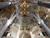 Испания. Барселона Собор Святого Семейства (арх. А.Гауди). Barcelona. Фото Achim Baque - Depositphotos