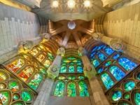 Испания. Барселона Собор Святого Семейства. Sagrada Familia of Barcelona in Spain, Europe. Фото kyolshin - Depositphotos