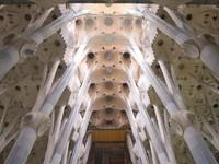 Испания. Барселона Собор Святого Семейства (арх. А.Гауди). Sagrada familia. Фото Jakub Pavlinec - Depositphotos