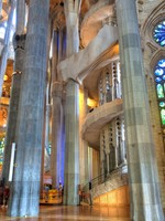Sagrada Familia by Antonio Gaudi. Фото Wallace Weeks - Depositphotos