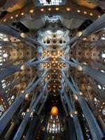 Испания. Барселона Собор Святого Семейства (арх. А.Гауди). Sagrada Familia. Фото jorisvo - Depositphotos
