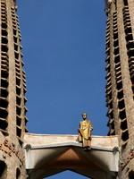 Испания. Барселона Собор Святого Семейства (арх. А.Гауди). Sagrada famiglia. Фото victorO - Depositphotos