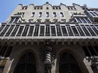 Испания. Барселона. Дворец Гуэль. Palau Guell Palace (Antoni Guell). Фото Jan Willem Van Hofwegen - Depositphotos