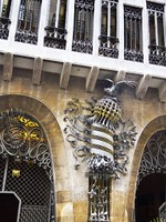 Испания. Барселона. Дворец Гуэль. The Palau Guell. Фото sarra22 - Depositphotos